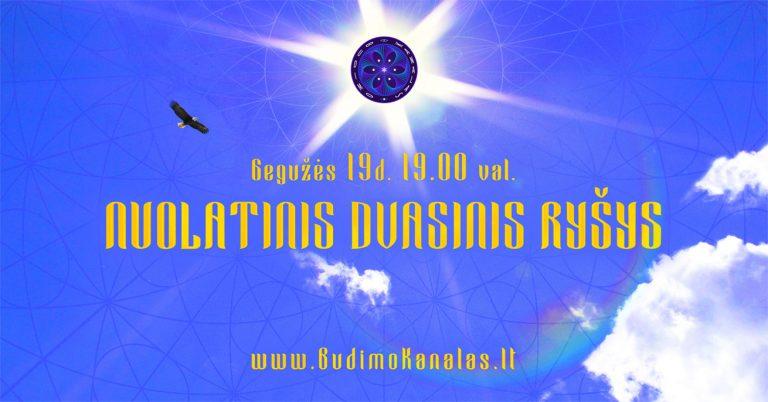 Paulius Daukšas Budimo Kanalas Webinaras Nuolatinis Dvasinis Ryšys