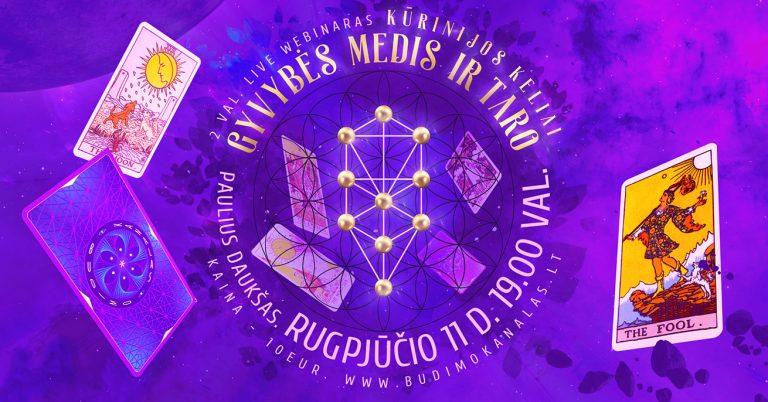 Internetinis Kursas Budimo Kanalas Gyvybės Medis ir Taro